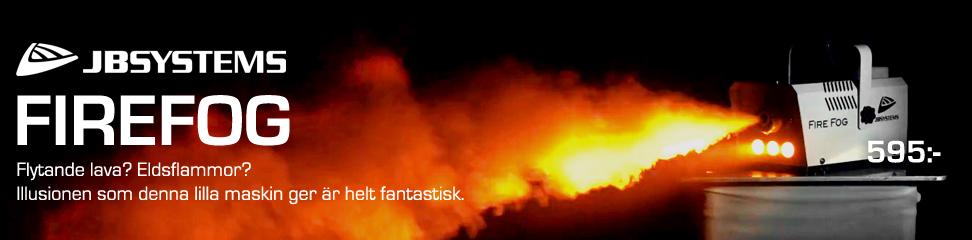 Fire Fog från JB Systems ger riktigt effektfylld rök